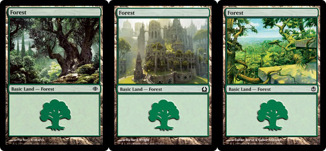 Magic lands green