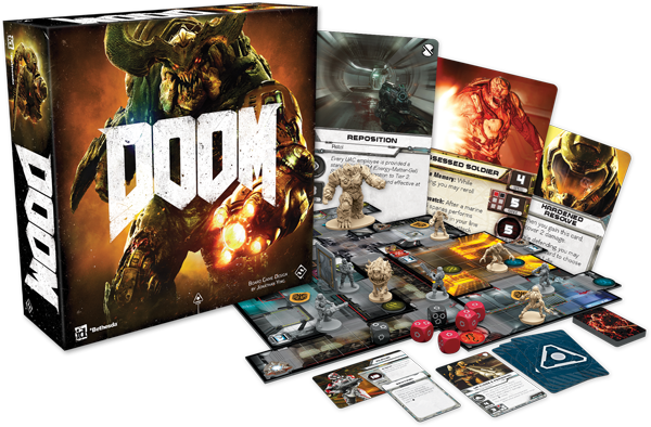 Doom the board game box