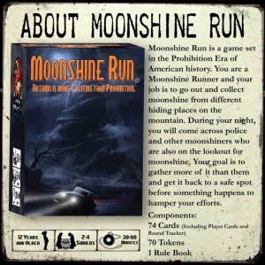 Moonshine run